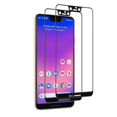 9H Full Coverage Explosion-proof Tempered Film 2PCS for Google Pixel 3xl