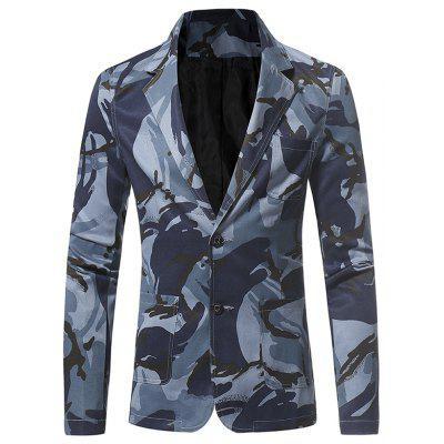 Camouflage Series Men Casual Casual Suit Jacket