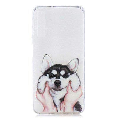 Dog Painting TPU Phone Case for Samsung Galaxy A7 2018 / A750