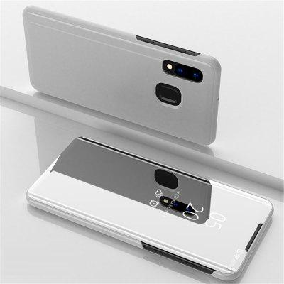 Flip Mirror Full Body Phone Case with Stand for Samsung Galaxy A40