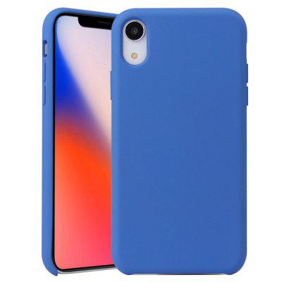 Liquid Silicone Phone Case für iPhone X / XS