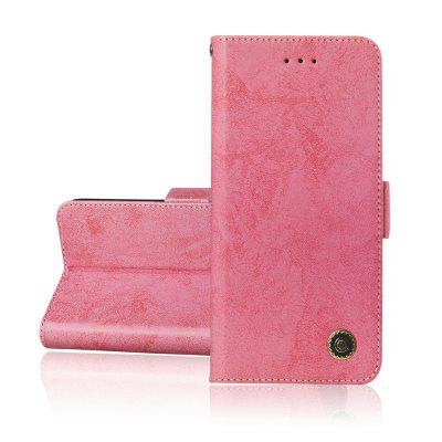 Simplicity PU Leather Cover Wallet Phone Case for Samsung Galaxy A50 Cover