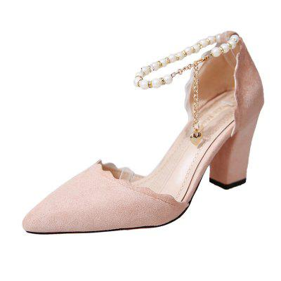 2019 Summer Casual Fashion High Heels Shoes for Women