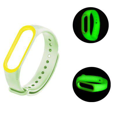 Luminous Silicone Strap Wristband For Xiaomi Mi Band 3