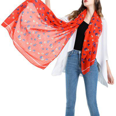 SALYBABY National Style Floral Printing Women Scarf