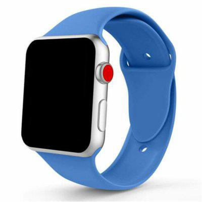 Bracelet en silicone Sport pour Apple Watch iWatch série 4 3 2 1 38 / 40mm 42 / 44mm