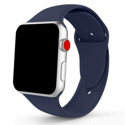 Bracelet de Sport en Silicone pour Apple Watch iWatch Séries 4 3 2 1 38/40mm 42/44mm