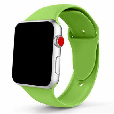 Silicone Sport Band Strap voor Apple Watch iWatch Series 4 3 2 1 38 / 40mm 42 / 44mm