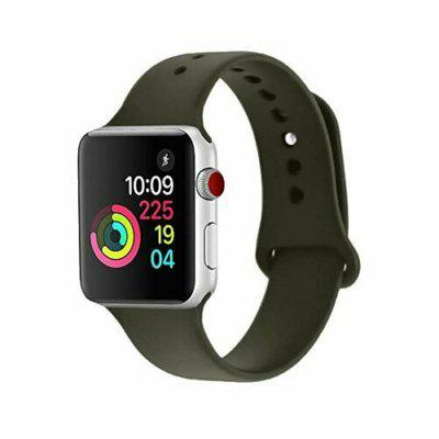 Cinturino in Silicone Sportivo per Apple Watch iWatch Series 4 3 2 1 38/40mm 42/44mm