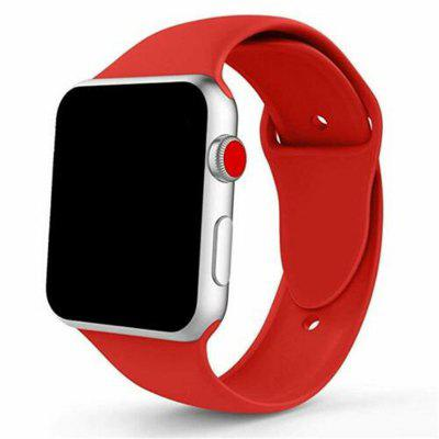 Curea bandă sport din silicon pentru Apple Watch iWatch Series 4 3 2 1 38 / 40mm 42 / 44mm