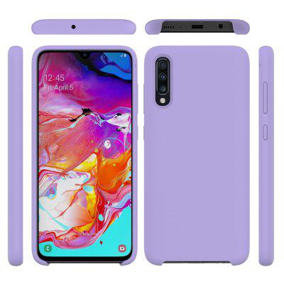 Liquid Silicone Drop Proof Phone Case for Samsung Galaxy A70