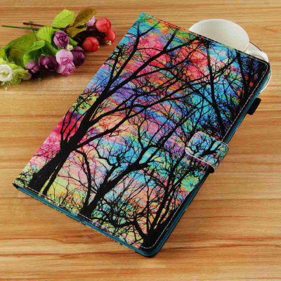 Color Tree Painted Tablet Leather Case for iPad New Air(2019)/iPad Pro 10.5