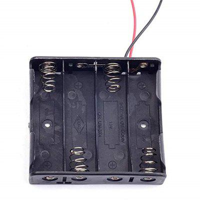 AA Battery Box with Covered Switch and Parallel Strip Wire 5Pcs