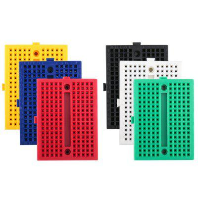 170 tie-points mini breadboard kit voor Arduino (6pcs)