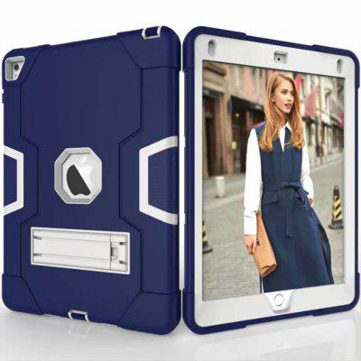 Shockproof Rubber Stand Tablet Cover for iPad 6 / Air 2