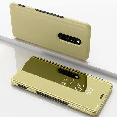 Smart Mirror Flip Phone Case Clear Cover for Sony XZ4
