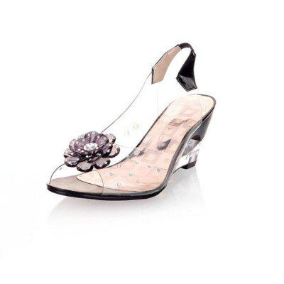 Flash Drill Hollow Heel Transparent Shoes Sandals (Gearbest) Visalia For sale ad