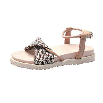 Flat Bottom Buckle Fashion Women Sandals H204 (Gearbest) Salinas announcements of purchase