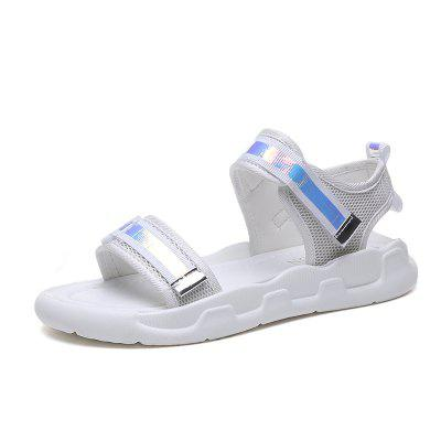 Pure Color Flat Bottom Fashion Women Sandals T-610 (Gearbest) San Buenaventura (Ventura) Purchase and sale of goods