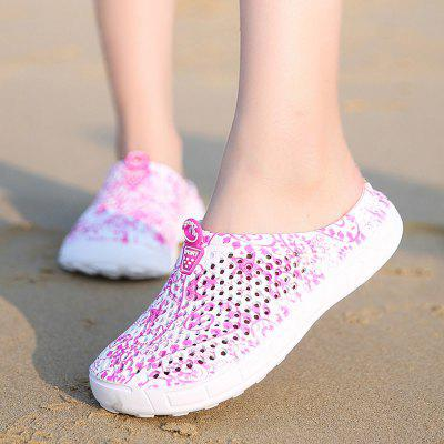 Women Slippers Outdoor Breathable Beach slippers female Hollow indoor slippers