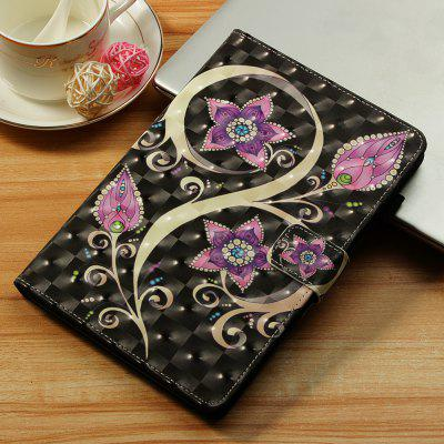 Peacock Flower 3D Painted Tablet Leather Case for iPad Pro 11 inch(2018)