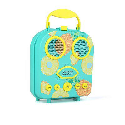 Portable Fashion Mini Cartoon Bluetooth Speaker Handbag Outdoor Music Player