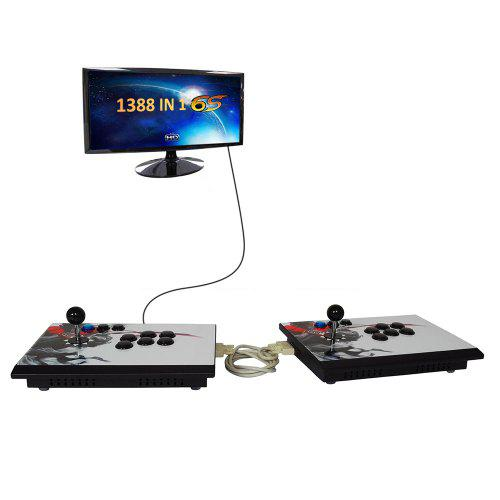 Gaming Consoles Box 6s 1388 In 1 Retro Video Games Double Stick