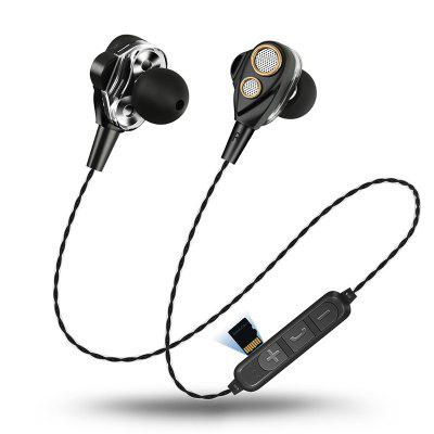 Four Speakers 6D Surround Sound Wireless Sport Bluetooth Earphone