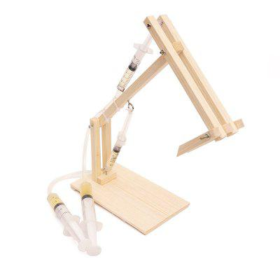 DIY Hydraulic Excavator Child Science Education Toy