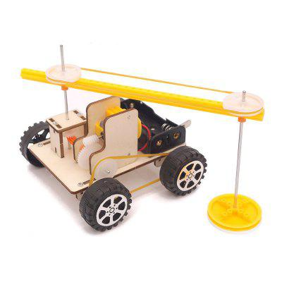 DIY Sweeping Robot Child Science Education Toy