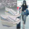 Summer High Quality New Fashion Casual Shoes Women - SILVER