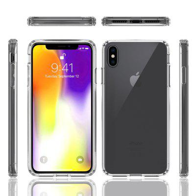Acrylic Clear Cover Cover-Proof Phone Case voor IPhone XS Max