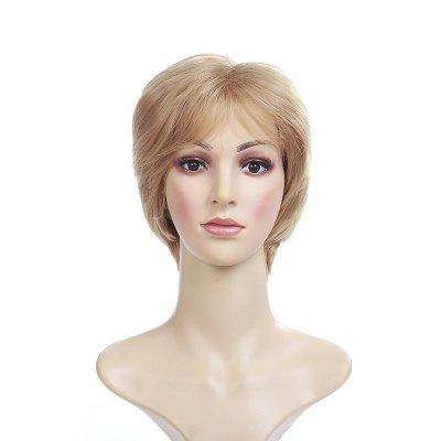 Female White Favorite Hairstyle Blonde Wig