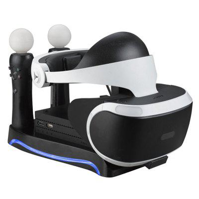 4 in 1 Charging Storage Stand Headset Bracket for PS4 PSVR PS Move VR