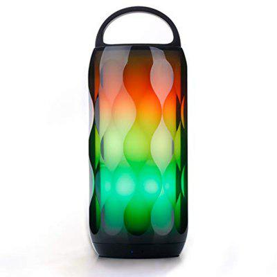 Portable Touch Style Bluetooth Speaker with Night Light