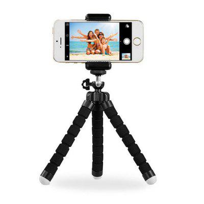 Portable Bluetooth Remote Control Phone Sponge Tripod Stand Holder Mount
