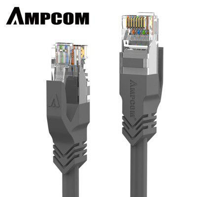 AMPCOM CAT6 Network Cable Patch Lan Cable Cord 1000 Mbps OFC Gold-plated Plug