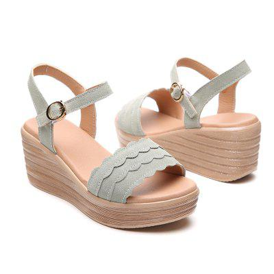 Summer suede casual sandals women shoes (Gearbest) Palm Bay New products