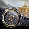 FORSINING Men Sport Stainless Steel Mechanical Automatic Skeleton Watch - MULTI-A