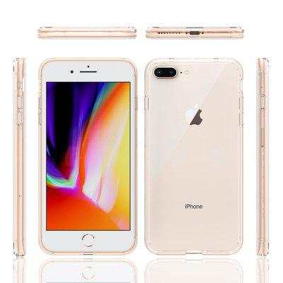 Acrylic Clear Full Cover Drop-Proof telefon Pouzdro pro iPhone 7plus / 8plus
