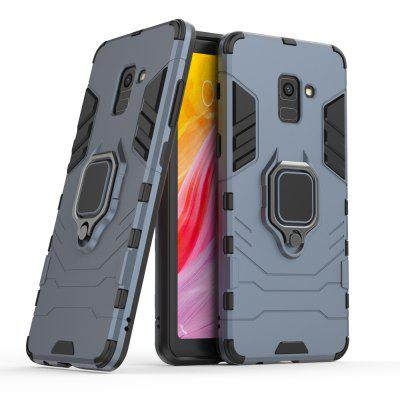 360 rotating ring phone case for samsung a8 plus