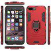 360 anel rotativo phone case para iphone 7 plus / iphone 8 plus - VERMELHO CEREJA