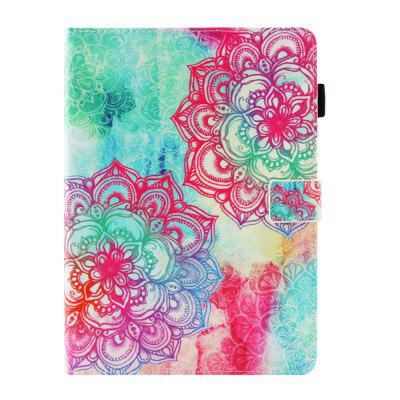 Flaming Flower Painted Tablet Leather Case for iPad Pro 11 inch(2018)