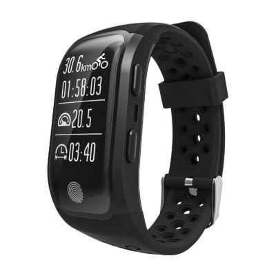 Seasonal S908 GPS Positioning Smart Watch Wristband With Waterproof Function