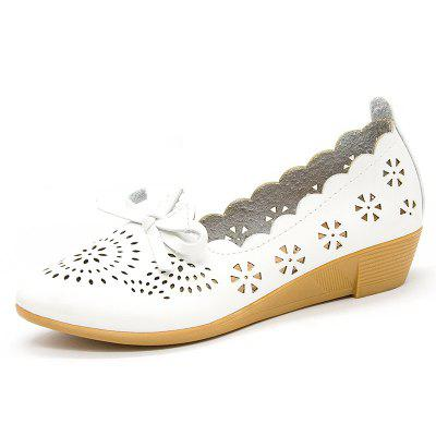 Flat Bottom Hollow Star Women Shoes (Gearbest) Round Rock New products