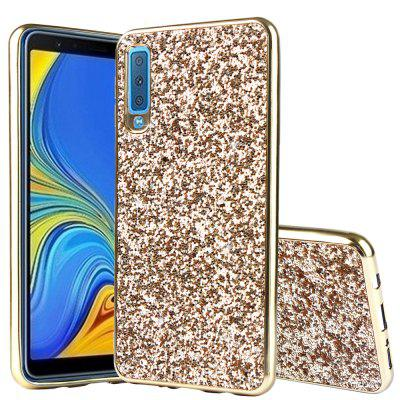 TPU Flashing Mobile Phone Case for Samsung A7 2018