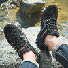 Heren Casual Instappers Sneakers Outdoor Anti-slip Wandelschoenen - ZWART