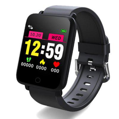 Big Color Touch Screen Blood Pressure Heart Rate Exercise Step Smart Watch
