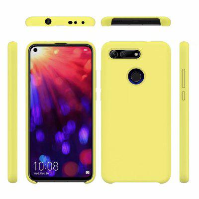 Liquid Silicone Soft Silica Gel Rubber Phone Case for Huawei Honor V20