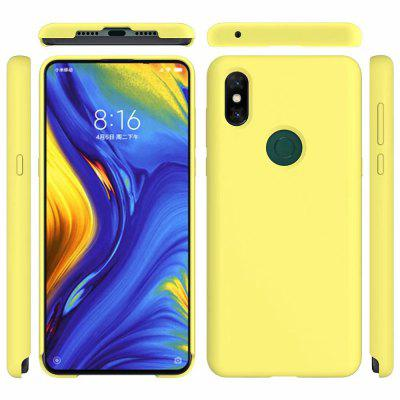 Liquid Silicone Soft Silica Gel Rubber Phone Case for Xiaomi Mix3